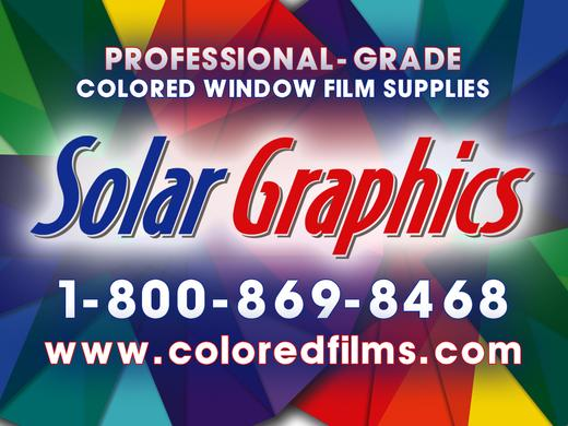 Solar Graphics window films contact logo picture image