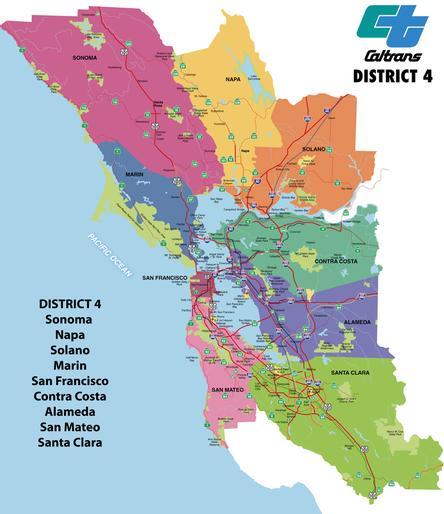 Caltrans District Maps on
