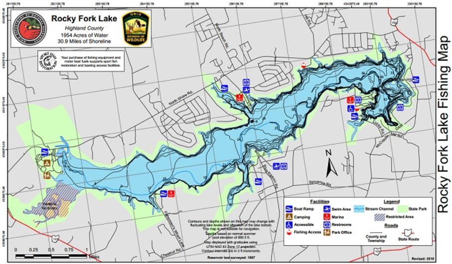 Central ohio crappie circuit rocky fork lake for Buckeye lake fishing