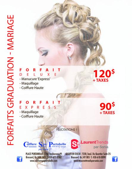Coiffure Spa Portobello- Forfaits Spa - Meilleur salon de coiffure à ...