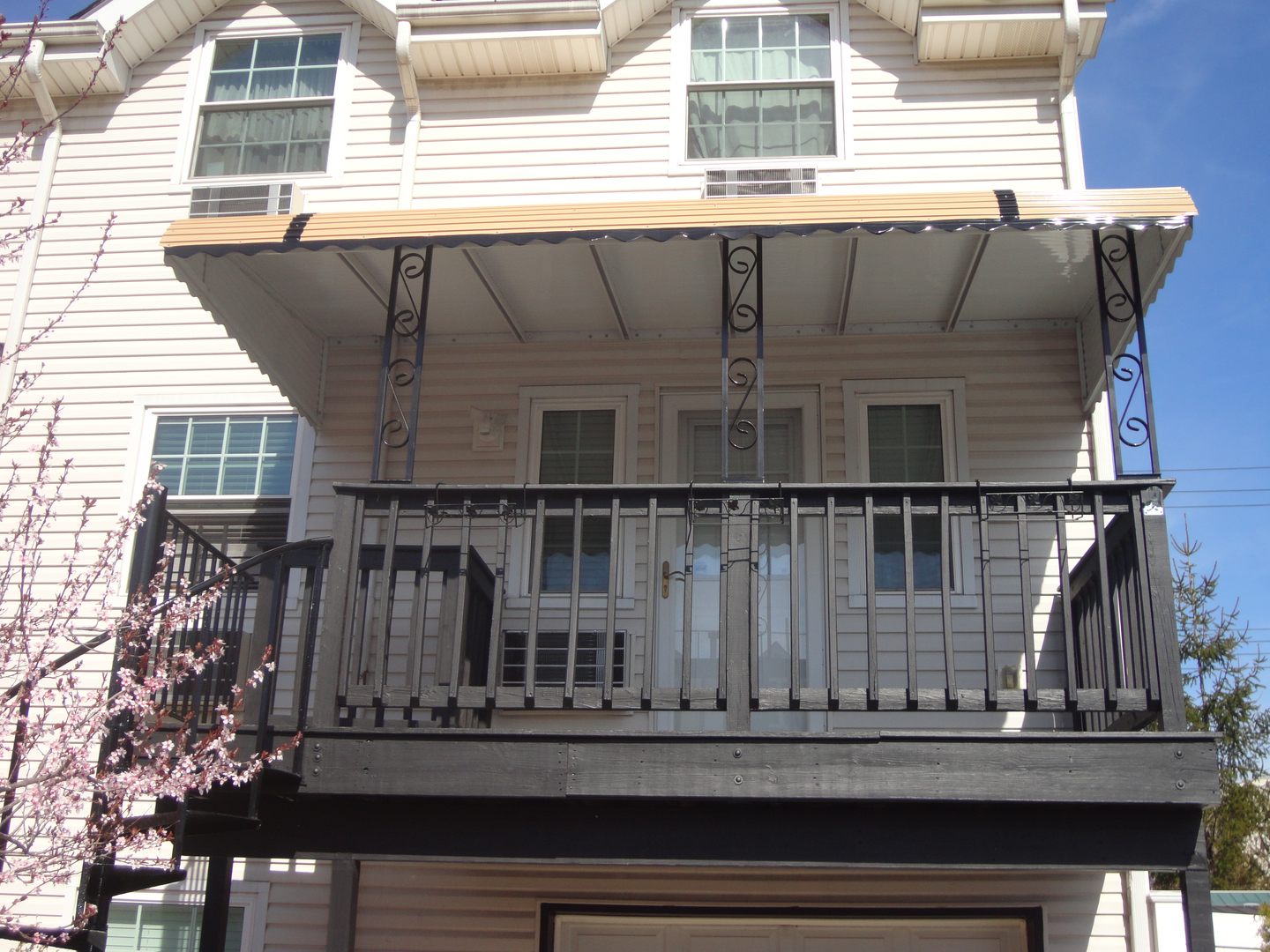 portfolio awnings standing atlantic aa stationary deck patio awning free thanks resi