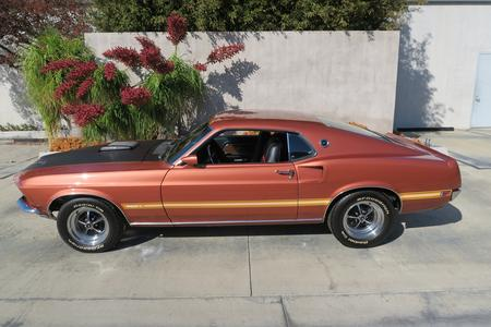 1969 Ford Mustang Mach 1 428 Super Cobra Jet for sale by motor car company in California