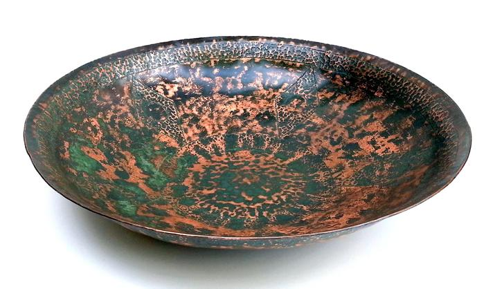 Verde copper bowl