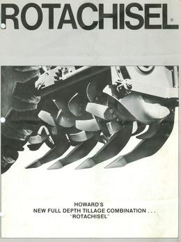 Howard Rotachisel Brochure