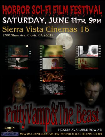 PrityVamp & The Beast Horror Sci-Fi Film Festival