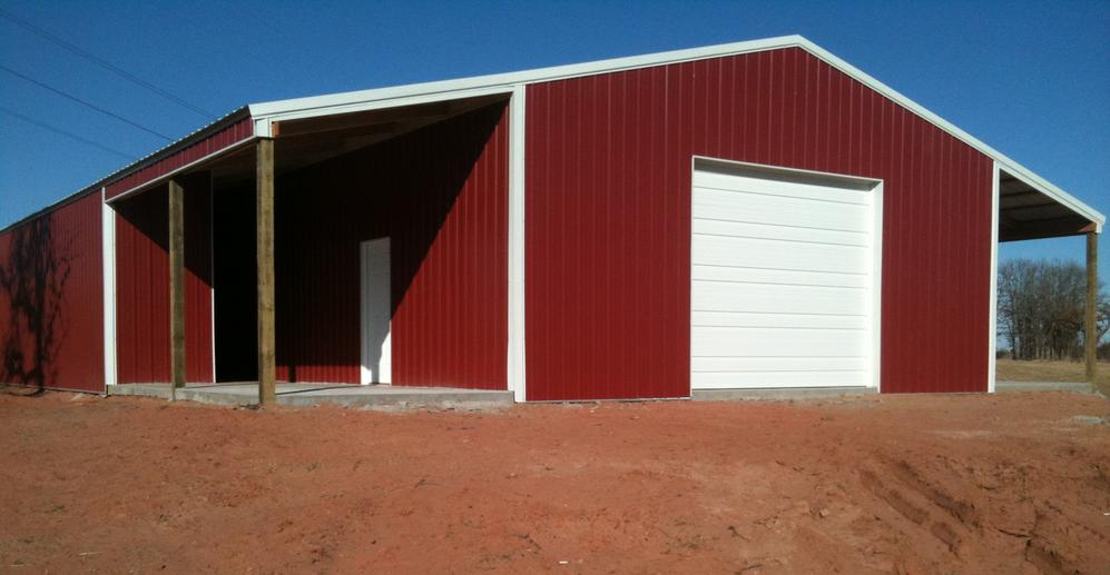Pole Barn Construction - Rock Creek Buildings, Llc - Shawnee, Ok