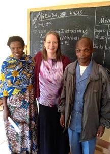 Teachers and leaders of the Dageno Girls Center.