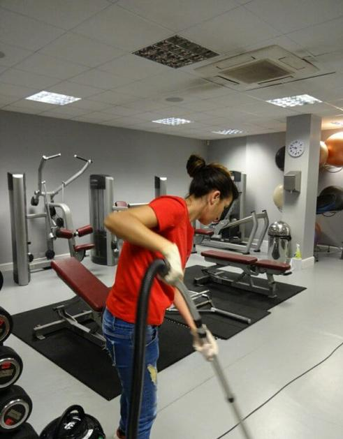 HEALTH CLUB CLEANING SERVICES