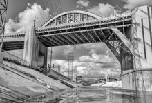 Jill Sanders Limited Edition Landscape Series Sixth Street Bridge