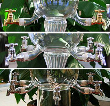 Glass Absinthe Fountain Spigots
