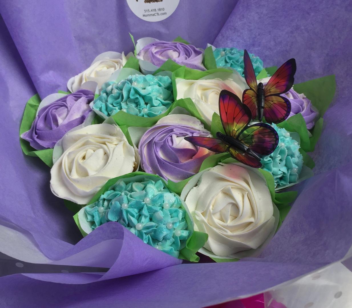 Cupcake bouquets izmirmasajfo Choice Image