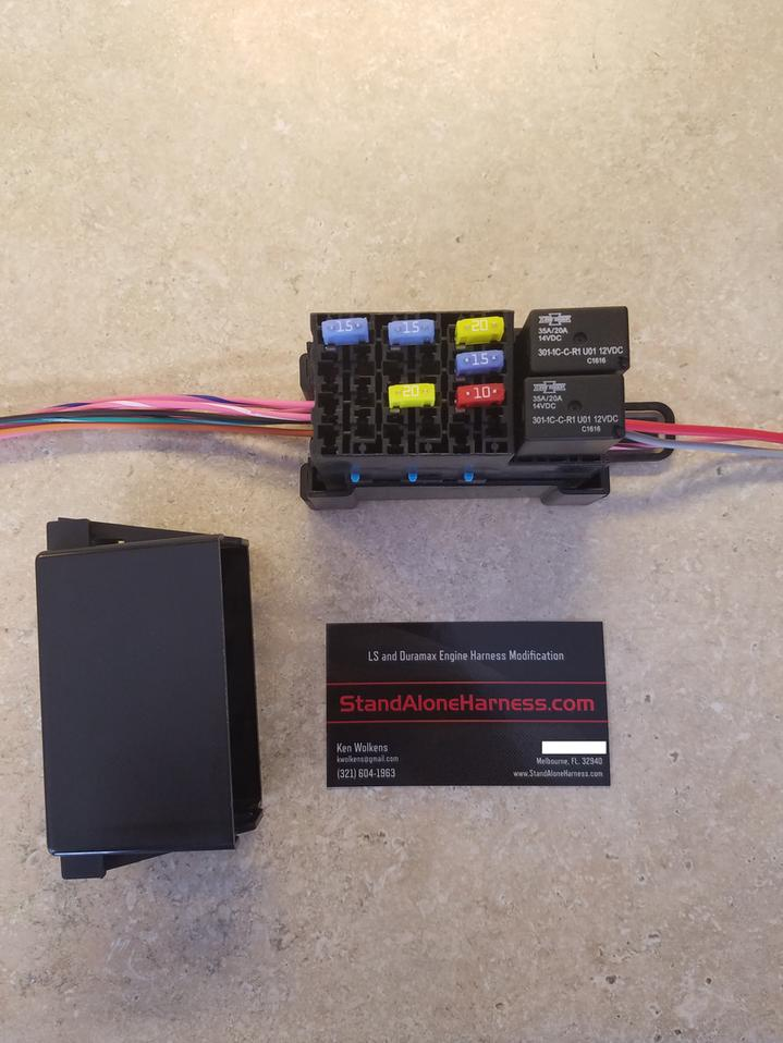 Standalone Harnesses by Ken Wolkens – Lt1 Wiring Harness Modification