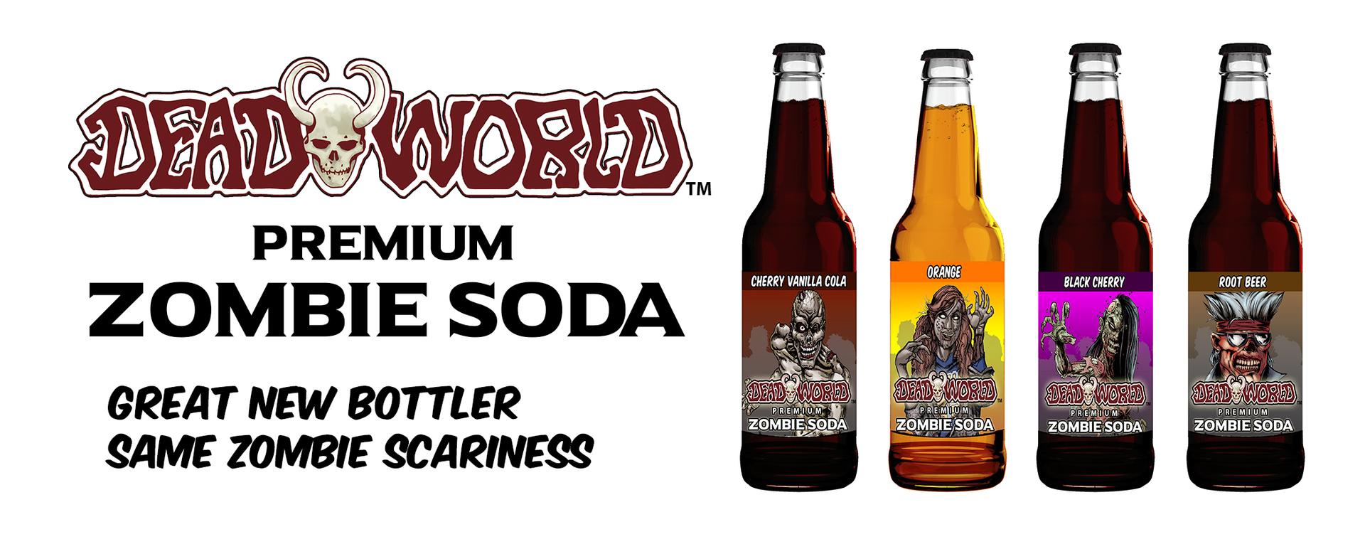Deadworld Zombie Soda