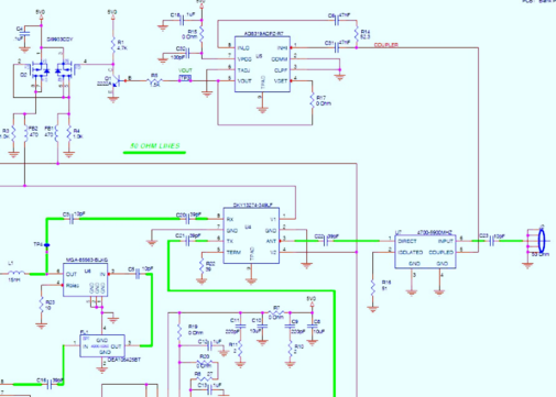 OrCad & PADS Schematic Capture by Via Circuits Inc. on schematic editor, digital electronics, logic synthesis, electronic design automation,