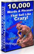 10,000 Words & Phrases that sell like crazy