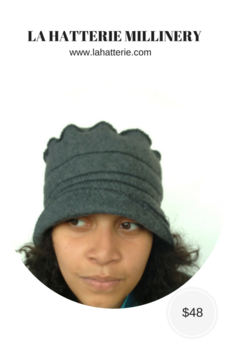 Fall/Winter Casual Hat- 1612-Felt Hat