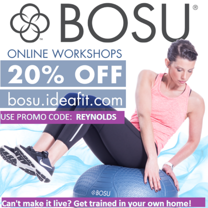 BOSU Online Workshops Erik Reynolds Fitness Education Certification