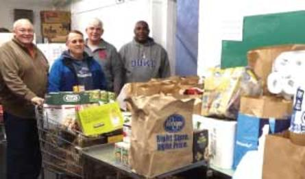 Sign up for the East Bluff Community Center Food Pantry.
