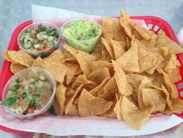 Chips at Tia Coris Tacos Daytona Beach