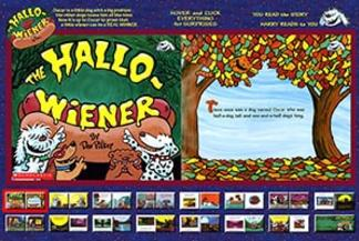 Flash Storybook Halloweiner