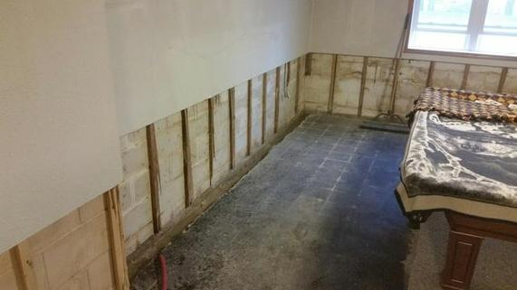 BASEMENT TEAROUT AND REPLACEMENT
