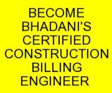 BHADANI BILLING ENGINEER QUANTITY SURVEYING COURSE IN DELHI INDIA KOLKATA GHAZIABAD UTTAR PRADESH HARYANA