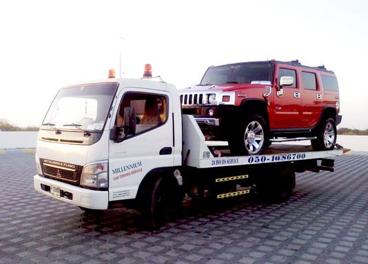VEHICLE RECOVERY TOWING SERVICE