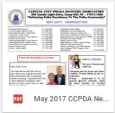 CCPDA May 2017 Newsletter