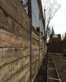 toronto shoring retaining walls
