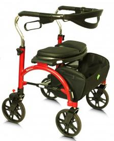 extra wide heavy duty rollator
