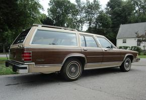 1986 Mercury Grand Marquis Colony Park Wagon