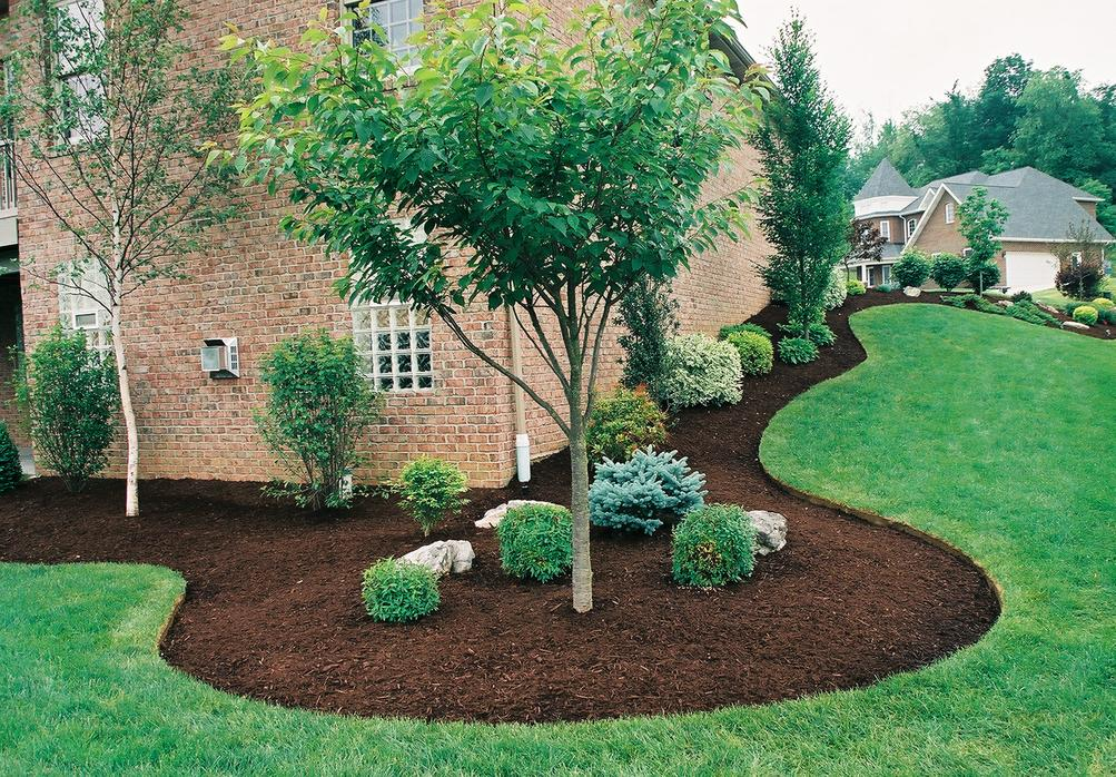 Landscaping Mulch Flowerbed Memphis, TN