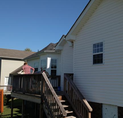 Clarksville exterior cleaning solutions house washing - Exterior house cleaning services ...
