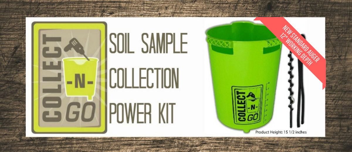 Collect-N-GO Soil Sample Collection Power Kit