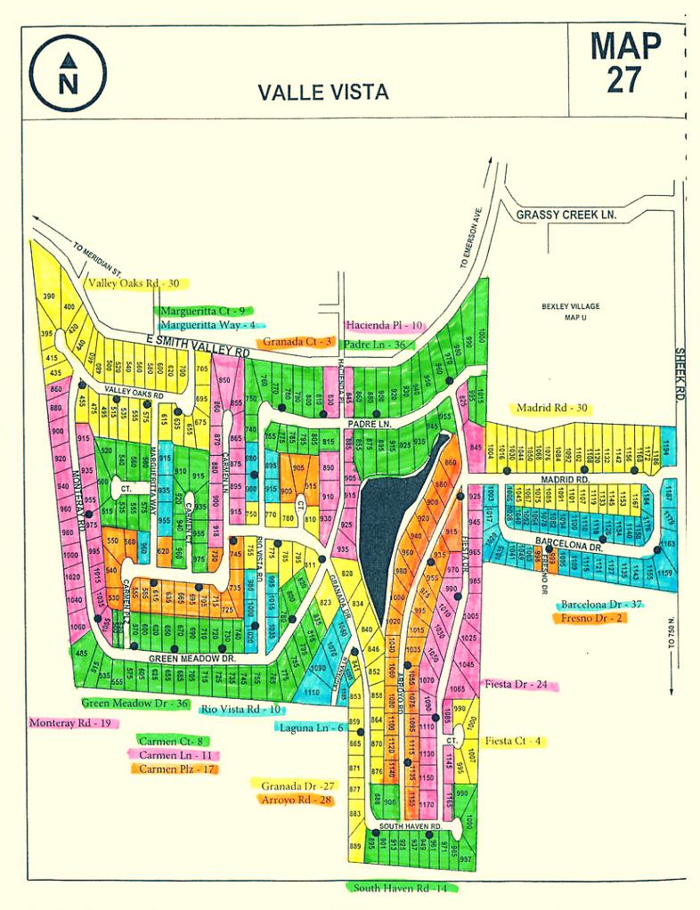 VVHOA Neighborhood & Community Information Greenwood IN