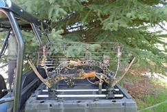 UTV Bow Carrier Gun Mount