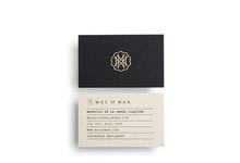 luxe printing business card