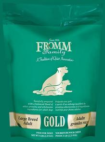 FROMM Large Breed Adult Gold Premium dry Dog Food Comes in 33, 15 and 5 pounds bags