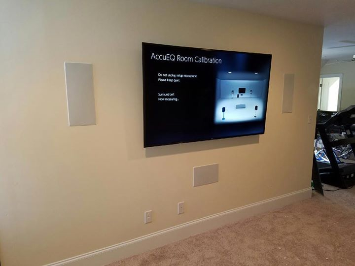 In Wall Home Theater Systems home theater installation, surround sound, audio visual: fort mill