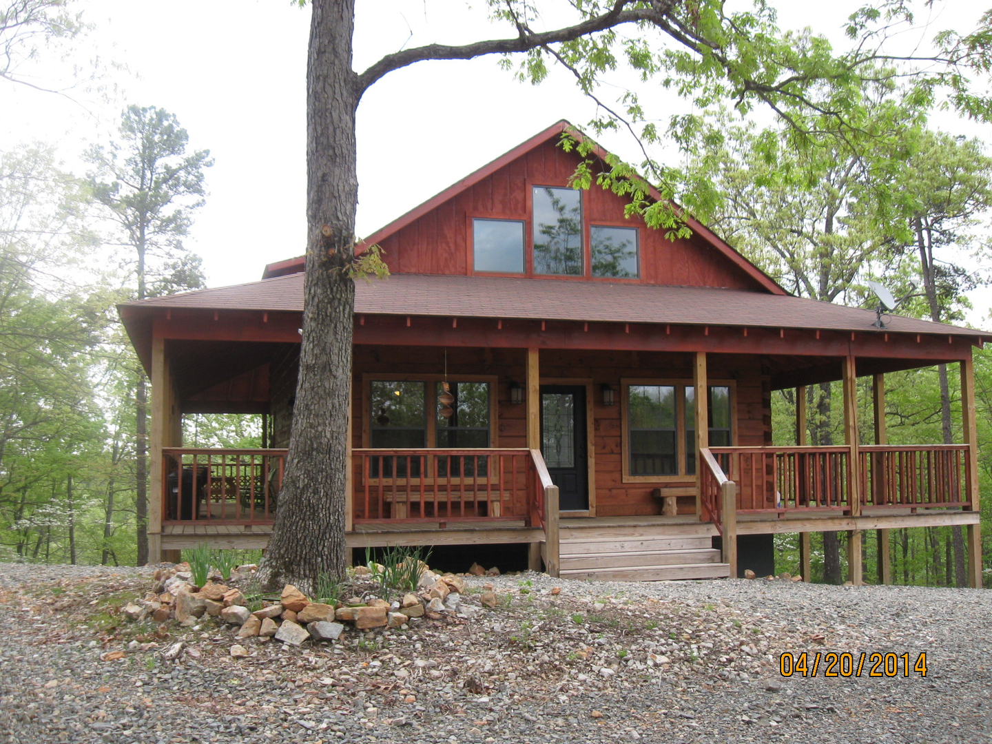 rentals cabins twilight in x of att sky hideaway pen arkansas exceptional ridge gap mena photo near exterior wolf clear cabin at