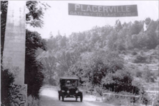 Original Welcome Sign Placerville Gateway to Lake Tahoe California Community Pride Volunteers
