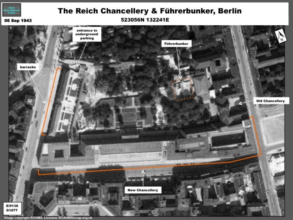 Hitler S F 252 Hrerbunker At The Reich Chancellery
