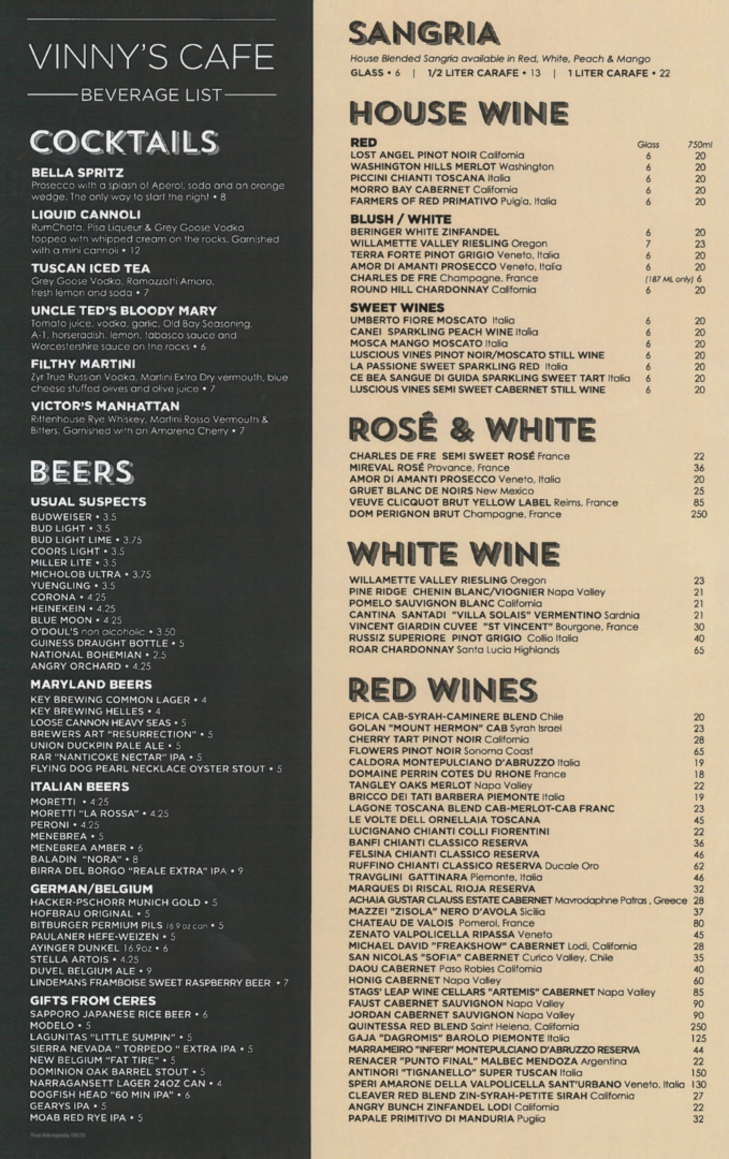 Vinnys_Wine_List
