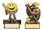 Low Cost Softball Resin Trophies