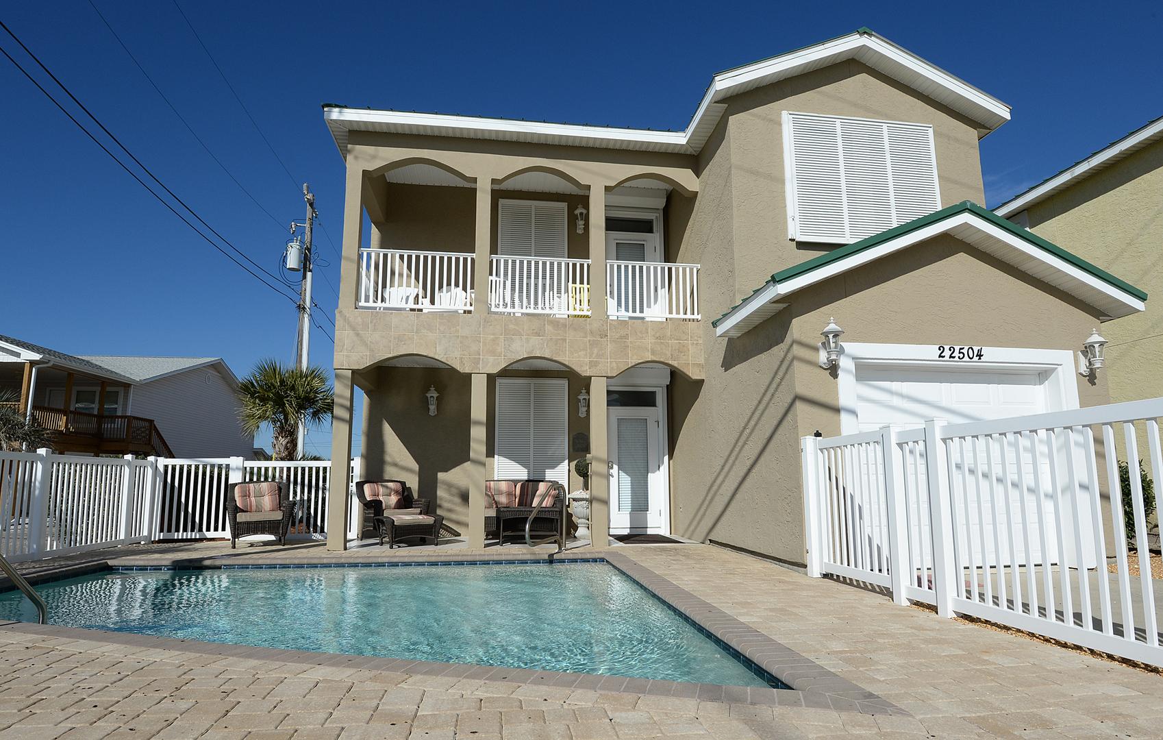 Panama City Beach FL rental vacation home, rent vacation home