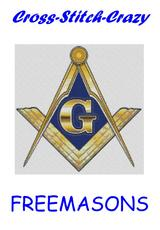 Freemasons Cross Stitch Charts Patterns