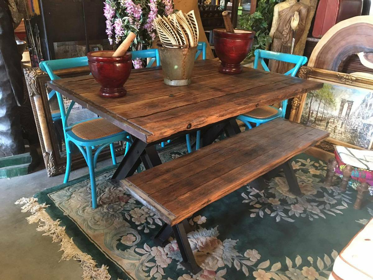Rustic Farmhouse Dining Tables - Solid Wood Furniture from ...