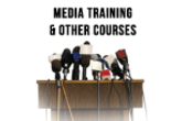 Media training, presenter training, other courses