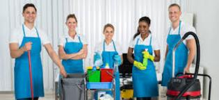 Housekeeping service. Home cleaning