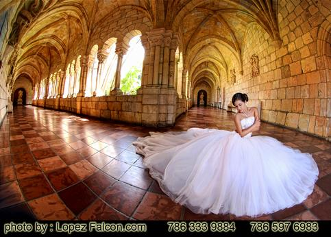 Quince photography Miami Spanish monastery quinceanera photographer